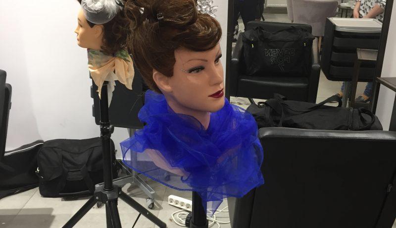 Próbny egzamin czeladniczy w zawodzie fryzjer
